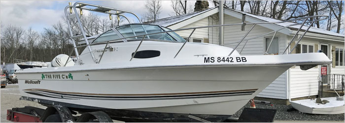 29' Sea Ray 2006 - Insurance Salvage - Damaged Boat